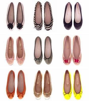 ぺたんこ靴人気
